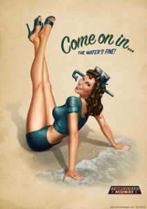 Pin-up Girls of the Zodiac