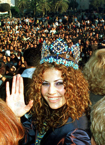 Miss World Winner: Linor Abargil