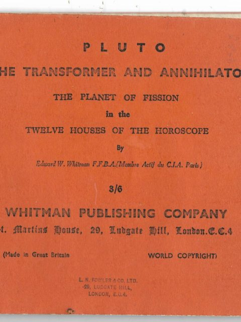 Pluto: The Transformer and Annihilator