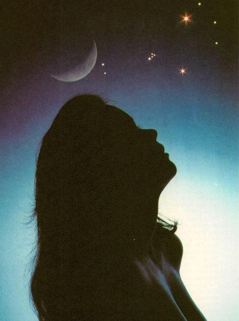 The Progressed Moon Aspects Uranus