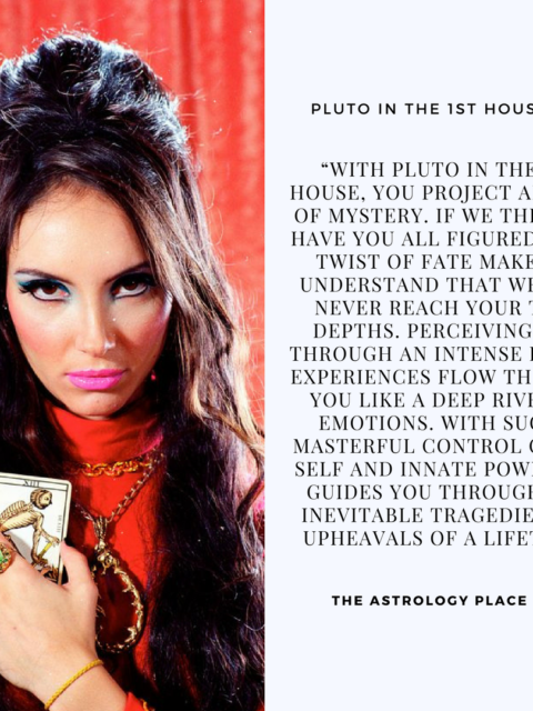Pluto, Scorpio, and the 8th House: Picture Quotes